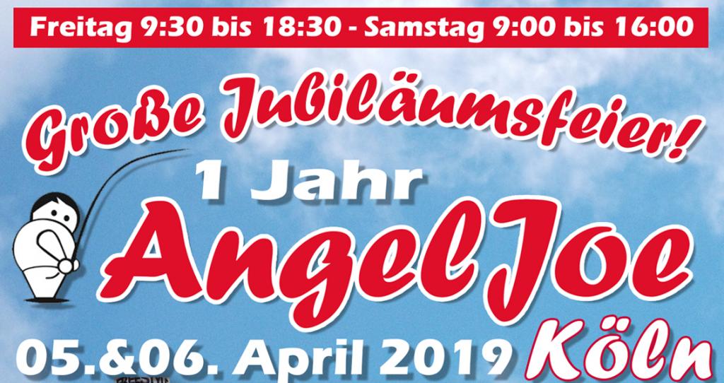 Großes Jubiläum bei AngelJoe Köln