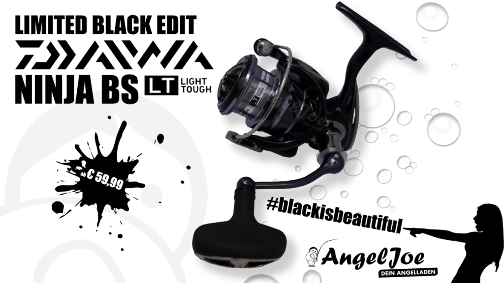 DAIWA NINJA BS LT -Limited Black Edition-