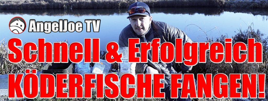AngelJoe TV Köderfische fangen