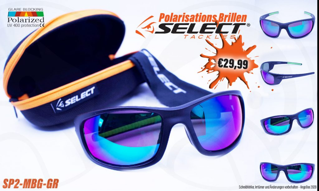Model SP2-MBG-GR // Polarisations Brillen von SELECT Tackles bei AngelJoe