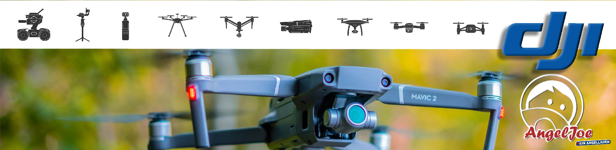 AngelJoe DJI Drohne Osmo Gimbal
