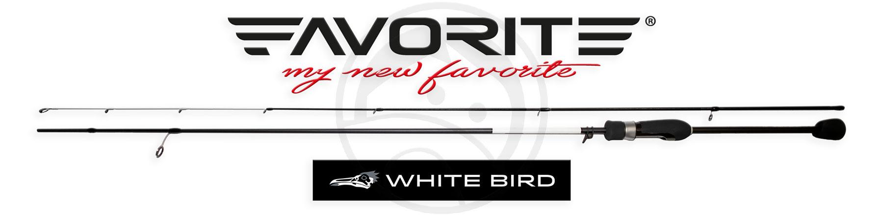 Die beste Barschrute? Die neue White Bird!